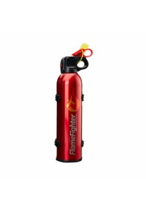 FlameFighter Household & Automotive Powder Fire Extinguisher (Red)