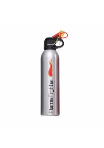 FlameFighter Household & Automotive Powder Fire Extinguisher (Silver)