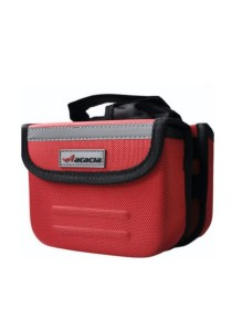 ACACIA Bike Front Pouch/Bicycle Bag (Red)
