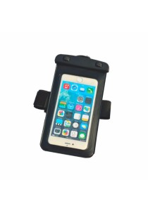 Swimming IPX8 Waterproof Phone Dry Bag Case Cover with Armband 6 Plus/Note 5 (Black)