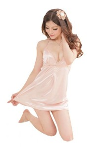FASHION TEE 4068 Kimono Babydoll Lingerie Sleepwear Special Series (Skin Colour)
