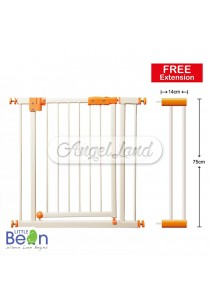 Little Bean Metal Safety Gate Free Gate Extension 14cm - LBBEF-DG1175 (73 x 75cm)