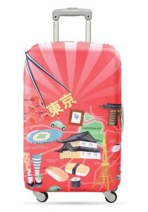 Loqi Urban Luggage Cover (Tokyo) (Medium)