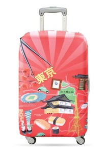 Loqi Urban Luggage Cover (Tokyo) (Large)