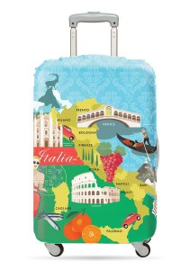 Loqi Urban Luggage Cover (Italy) (Large)