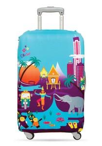 Loqi Urban Medium Luggage Cover (Thailand)