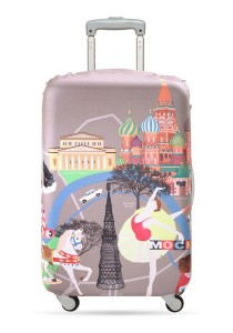 Loqi Urban Medium Luggage Cover (Moscow)