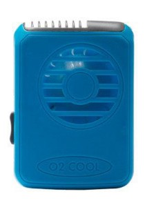 O2Cool Deluxe Necklace Fan (Blue)