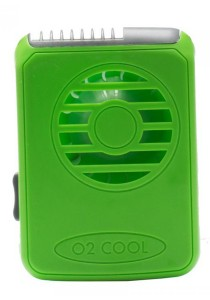 O2Cool Deluxe Necklace Fan (Green)