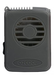 O2Cool Deluxe Necklace Fan (Grey)