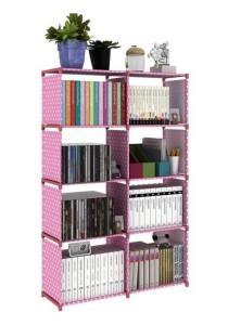 Korean DIY Book Storage 5 Tiers with 8 Columns