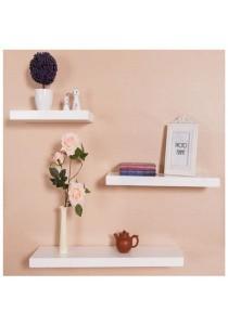 Set of 3: Sky Floating Wall Shelves