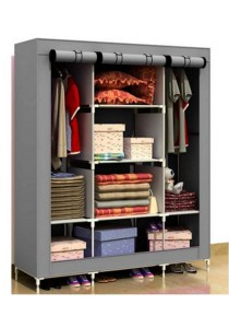 Multifunctional Wardrobe (Grey)