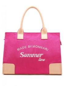 LinkedinLove Japan Oxford Canvas Tote Bag (Hot Pink)