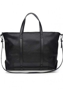LinkedinLove Zara Style Two Way Practical Laptop and Casual Bag For Men (Black)