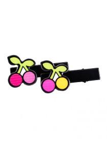 LinkedinLove Cherries Hair Clip Set (Pink)