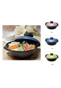 Lock&Lock Goldsun Zen Casserole Clay Pot 24cm Blue