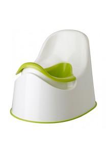 Kids Potty Training Seat (White & Green)
