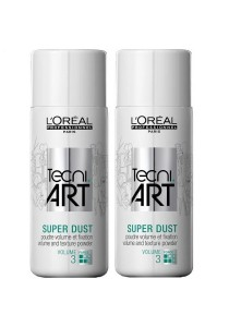 Loreal TechniArt Super Dust - Hold Factor 3 (Twin Pack)