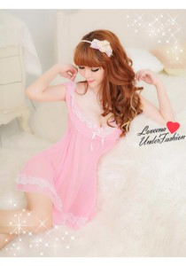 Loveena Elegance Dress Sexy Nightwear Lingerie Pajamas L3093
