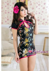 Loveena Traditional Cheong Sam Costume Sexy Nightwear L4010