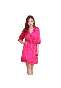 Loveena 2 in 1 Sexy Robe + Dress Pyjamas Lingerie Set L7003