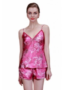 Loveena Ice Silk Sleepwear Pyjamas Lingerie Set L7024