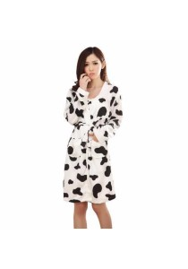 Loveena MooMoo Cow Sleepwear Pyjamas with Robe P0511