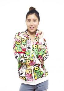 LadiesRoom Printed Jacket with Hoodie LRJ2519D (Multicolor) S/M