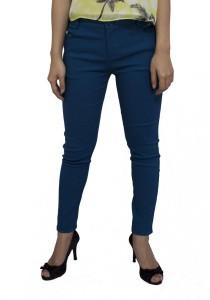 LadiesRoom High Waist Skinny Pants (Green Blue)