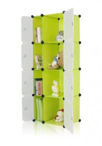 Tupper Cabinet 8 Cubes Slim-Size Fruit Green DIY Cabinet