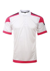 Microfibre Polo T Shirt LT 01 01 (White)