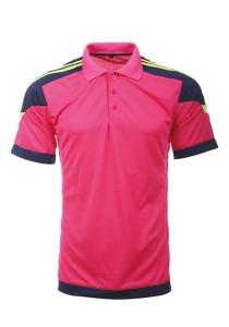 Microfibre Polo T Shirt LT 01 02 (Magenta)