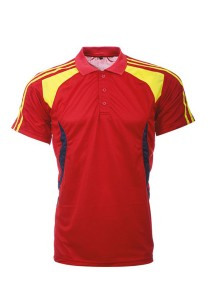 Microfibre Polo T Shirt LT 02 01 (Red)