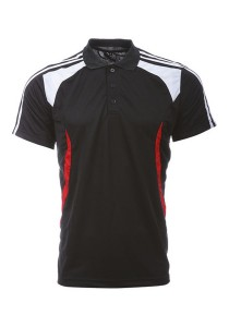 Microfibre Polo T Shirt LT 02 02 (Black)
