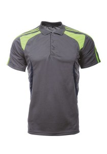 Microfibre Polo T Shirt LT 02 04 (Charcoal)