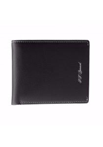 St Bernard Bifold Men's ST-WED Series Wallet (Black)