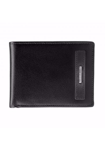 St Bernard Side-fold Men's ST-WEE Series Wallet (Black)