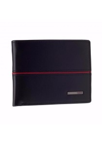 St Bernard Trifold Men's ST-WEF Series Wallet (Black)
