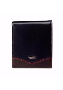 St Bernard Mid-fold Men's ST-WEG Series Wallet (Black)