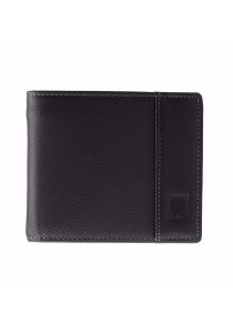 St Bernard Bifold Men's ST-WEH Series Wallet (Black)