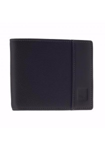 St Bernard Mid-fold Men's ST-WEH Series Wallet (Black)