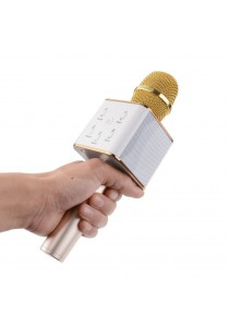 Premie Q7 Portable Wireless Karaoke Mic Handheld Condenser Microphone with Speaker High Quality