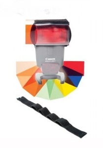 LumiQuest LQ-121A Fxtra Gel Holder Set with 8 Colors  UltraStrap