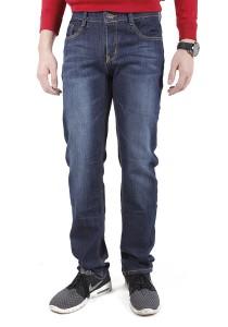 Casual Regular Dark Blue Jeans