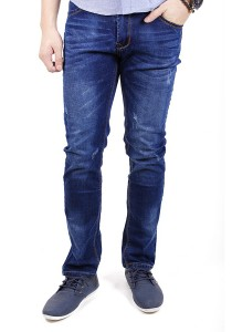 Blue Vintage Slim Fit Jeans
