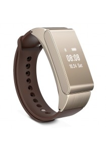 M8 Bluetooth Headset Waterproof IP57 Smart Bracelet Talk Band (Gold)