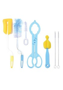 MomBaby Baby Bottle Cleaning Tools - Set of 7
