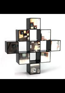 Customisable 9-Cube Decorative Storage Organiser