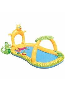 Bestway JUNGLE SAFAR 280cmI Family kids Interactive inflatable Play Pool